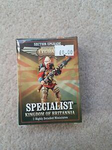Dystopian Legions - Kingdom of Britannia Specialist MIB OOP rare