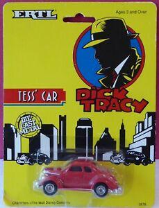 ERTL 1/64 DICK TRACY TESS' CAR, GOOD CONDITION