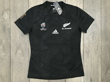 Adidas New Zealand All Blacks 2019 World Cup Rugby Jersey Womens Large NWT $80