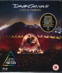 David Gilmour of Pink Floyd Live At Pompeii Sealed 4 Disc CD & Blu-ray Box Set