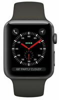 Apple Watch Series 3 38mm Space Gray Aluminium Case Gray Sport Band MR352LL/A