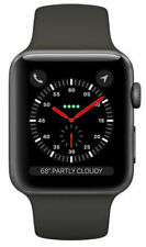 Apple Watch Series 3 42mm GPS+Cellular Aluminium Space Grau Gray Smartwatch NEU!