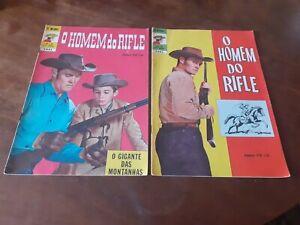 The Rifleman comics magazine 1975 Chuck Connors cowboys brazilian edition EBAL