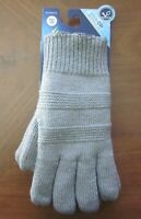 Isotoner SmartDRI Women's Knit Gloves One Size - Heather Gray - NWT MSRP $25