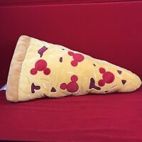 NWot Disney Parks Food Mickey Mouse Pizza Pillow Plush Medium 23 1/2''