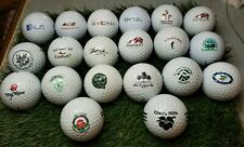20 Assorted Golf Course/Country Club Logo Golf Balls