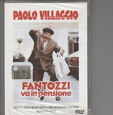 """FANTOZZI - FILM DVD: """"FANTOZZI VA IN PENSIONE"""" con P. VILLAGGIO NUOVO SIGILLATO!"""