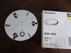 Viega Tempoplex 115 mm Fertigset Abdeckung Abdeckhaube Deckel 649982 6964.0