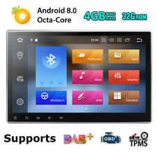 """10.1"""" Android 8.0 Octa-Core 4+32GB Double 2 DIN Car GPS Stereo Radio DVD Player"""