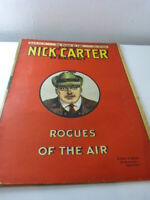 NICK CARTER,série II,n°10,rogues of the air , les pirates de l'air (pie17)