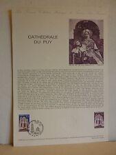Premier jour * Fiche Musée postal * Cathédrale du Puy en Velay