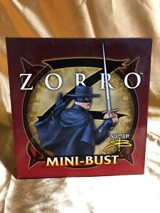 ZORRO  - MINI BUST - BOWEN DESIGNS -    1443 of 2500