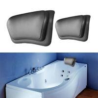 PU Bath Pillow Bathtub Spa Head Rest Neck Support Back Comfort Tub Cushion AU!!!