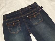 NWT BOGARI Denim Capris Jeans 6 (32x22) Cropped dark wash blue Women's Premium