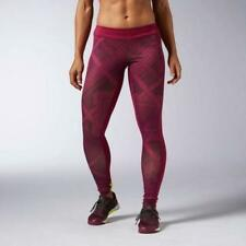 Brand New Ladies Reebok Crossfit Female Tights Chase Shemagh SMALL rrp £60