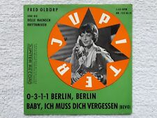 """Vinyl-7""""-Cover # only Cover # Fred Oldörp # 0-3-1-1 Berlin, Berlin # 1961 # vg"""