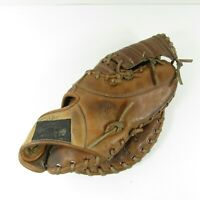 """Vintage Japan Made TOWN & COUNTRY Professional 10.5"""" Leather First Baseman Glove"""