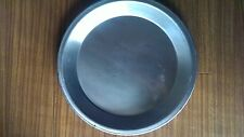 """2x Allied Metal Spinning 12"""" Pie Pan 12"""" x 1-3/8""""D - Lot of 2"""