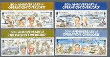 Isle of Man-World War II Operation Overlord set mnh-Military-1994