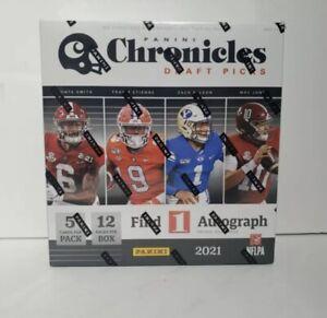 2021 Panini Chronicles Draft Picks Football Mega Box (Factory Sealed)