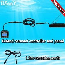 1.5m/60inch Black Wiring Cable for LED Aquarium Light,simulation sunrise sunset