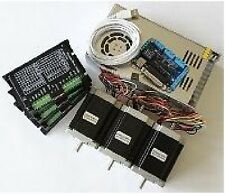 3 Axis CNC Electronics combo -Stepper motors,drivers, breakout board & power sup