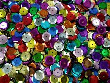 Sequins Metallic Cup 10mm Mix 25g Dance Stage Costumes Beading POSTAGE