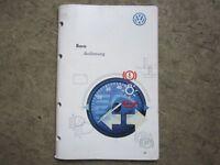 Bedienungsanleitung Betriebsanleitung VW Bora Anleitung