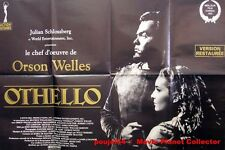 OTHELLO - Orson Welles - AFFICHE 120x80/47x32 FRENCH POSTER RR