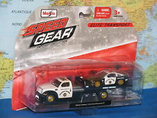 MAISTO SPEED GEAR MAISTO FLATBED / 2010 FORD MUSTANG GT POLICE BRAND NEW & RARE
