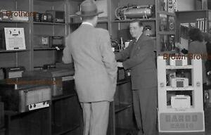 1940s NYC Department Store Salesman Garod Radio Records Film Camera Negative BB
