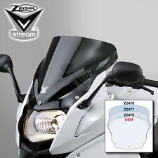 z2476 BMW ZTechnik F800GT dark tint and touring motorcycle windscreens