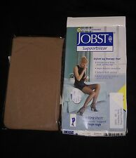 JOBST SupportWear Ultra Sheer Therapeutic Thigh High Sun Bronze Large 8-15 mmHg