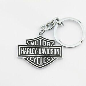 Harley Davidson HD Bar & Shield Logo Key Chain Schlüsselanhänger Anhänger NEU