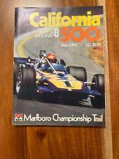 1971 California 500 Program
