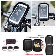 Motorcycle Handlebar Phone GPS Sunshade Mount Holder Bag Case Wallet Waterproof