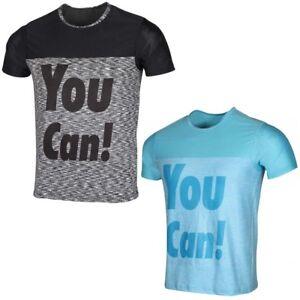 Mens Premium T Shirt Gym Sports Fitness Active Running Top Tee Lightweight Black