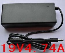 AC 100V-240V Converter Adapter DC 19V 4.74A 90W Power Supply Charger DC 5.5mm