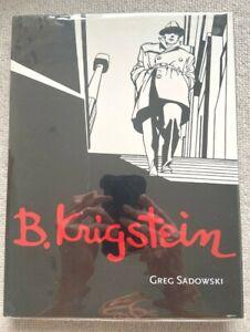 B. KRIGSTEIN BY GREG SADOWSKI HARVEY & EISNER-WINNING BIO OF EC COMICS GREAT NM