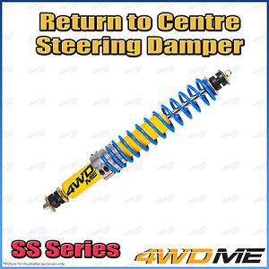 Fits Nissan Navara D22 4WD RTC Return to Centre Steering Damper Stabiliser Kit