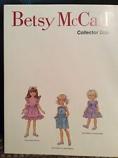 1998 Betsy McCall Collector Doll paper doll