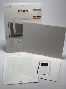 "*Open Box* Moshi iVisor AG White Screen Protector for iPad Air 2 / iPad Pro 9.7"""