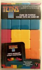 MASTERPIECES TETRIS 16 PIECE BRAINTEASER CUBE 3D PUZZLE * BRAND NEW SEALED