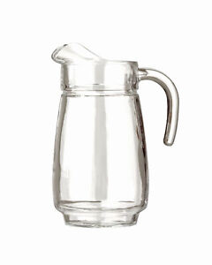 Arcoroc Tivoli Krug 2,3 Liter Luminarc Saft Wasser Karaffe Glaskrug Glaskaraffe