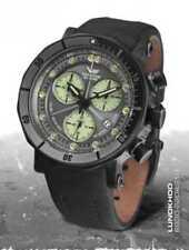 Relojes de pulsera Vostok de cuero resistente al agua