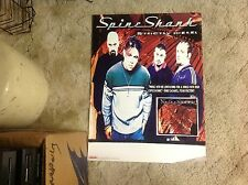 LP CD SPINESHANK PROMO Poster 24x18  roadrunner records vintage music.rr