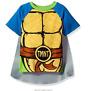Nickelodeon TMNT Teenage Mutant Ninja Turtles Shirt with Cape Toddler Boys