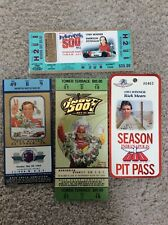 MISCELLANEOUS GROUP OF INDY RACING TICKETS INDIANAPOLIS 500  & PIT PASS