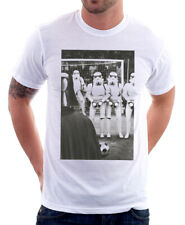 Stormship troopers darth vader football white t-shirt 9775 size XL