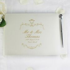 Guest Book - Personalised, Wedding, Engagement, Anniversary, Mr & Mrs